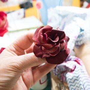 Wired Rose Closeup