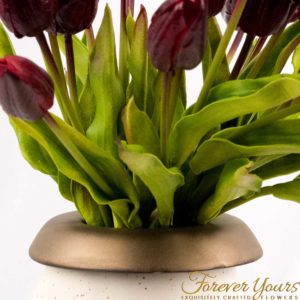 ceramics, handmade, hand-crafted, pottery, home decor, plants, painted wedding flowers