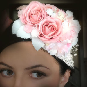 Hand painted Head Pieces