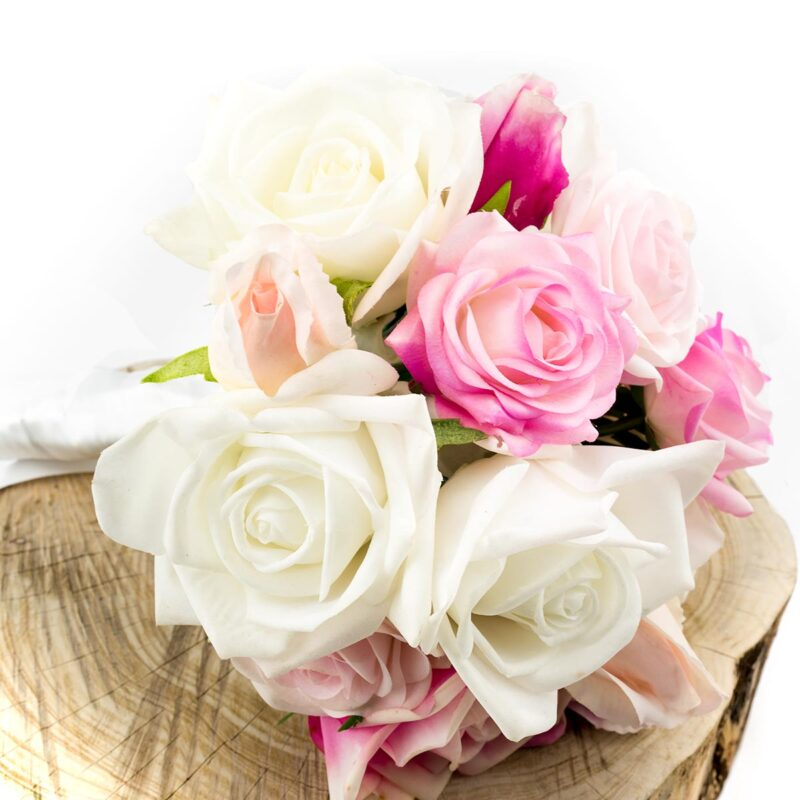 Real Touch Bridal Bouquet, artificial wedding flowers