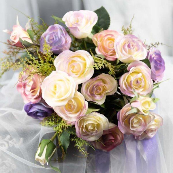 Alahna Handpainted Hand-tied Bouquet