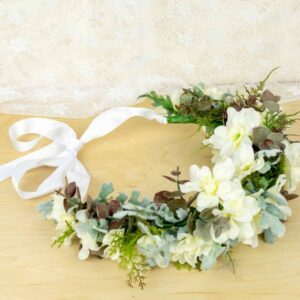 Design and create your own flower crown for your next special event.