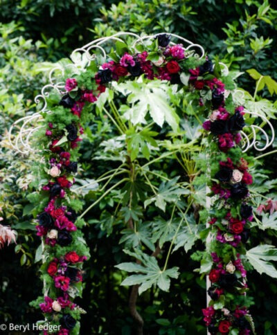 Wedding Arch, ceremony decor, flower arch