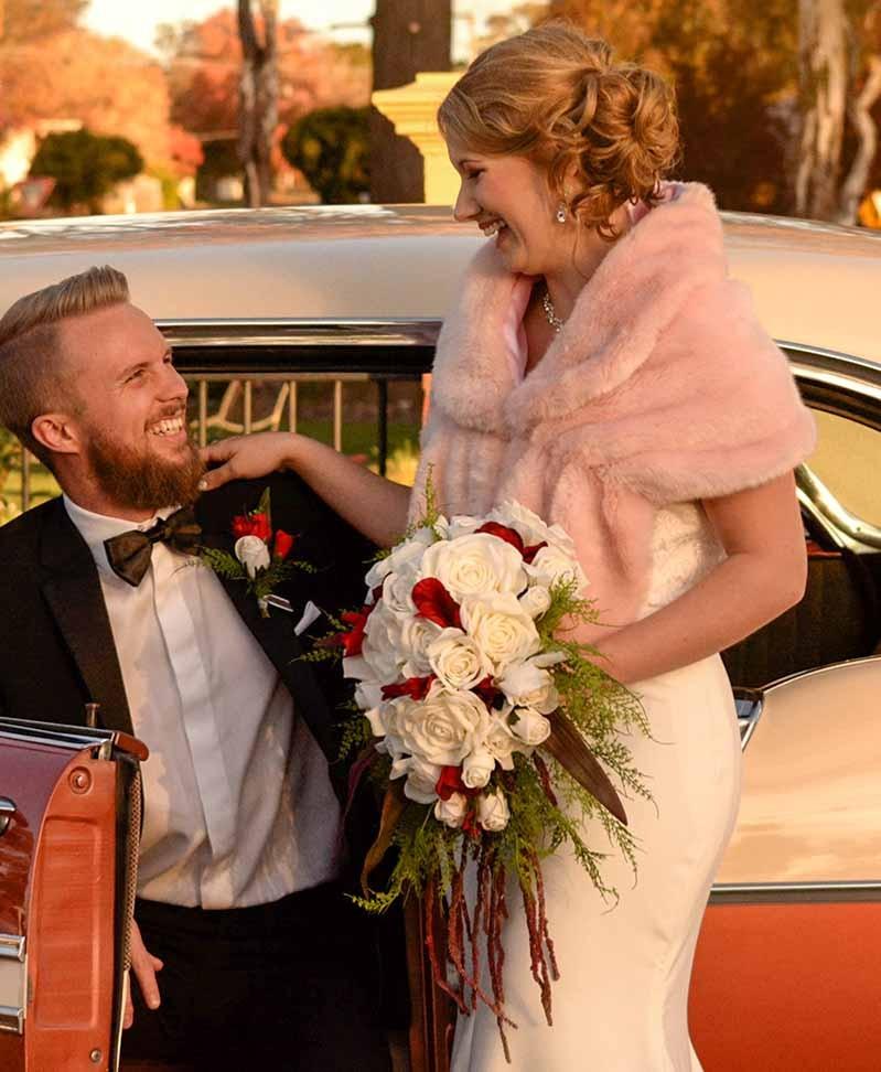 Romantic Cascading Artificial Wedding Bouquet