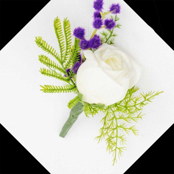 Buttonholes, wedding, rose, artificial flowers
