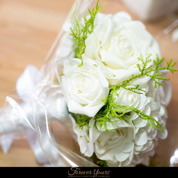 English Rose Bouquet Workshop DIY learn to create
