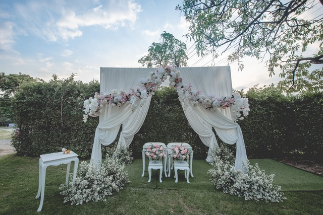 Wedding Arch, Fabric Arch, DIY, Make Your Own