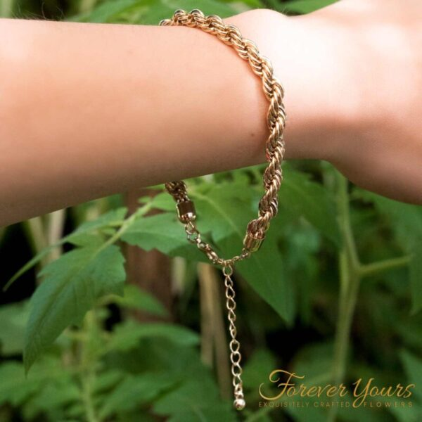 Singapore Gold Chain Bracelet