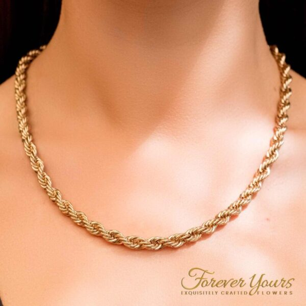 Singapore Gold chain Necklace