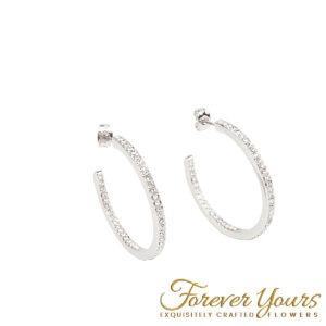 30mm S/S Hoop Earrings