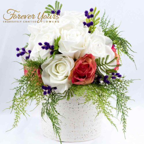 handmade pottery, ceramics, home decor, pot, artificial wedding flowers
