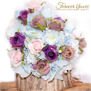 Juliet Hydrangea Childs Bouquet, Flower girl, wedding flowers