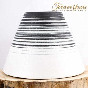 Karter Volcano Vase, handmade ceramics, pottery, home decor,