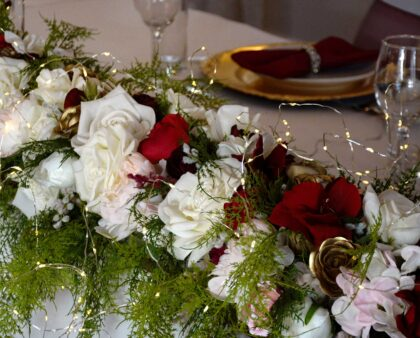 Bouquets with Bling – make your flowers sparkle!
