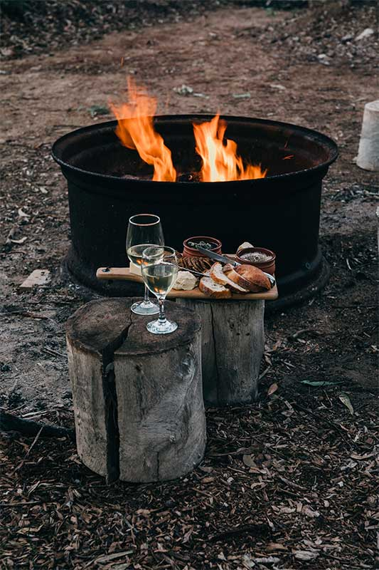 Have you thought of having an outdoor fire pit at your wedding