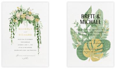 Evite, paperless, online invite, wedding invite