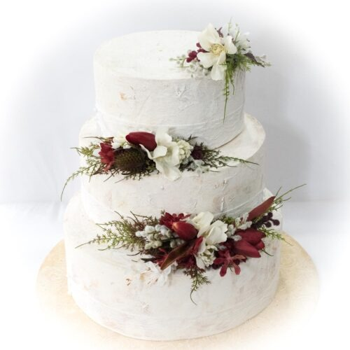 Wedding cake, wedding cake decoration, wedding flowers, artificial flowers