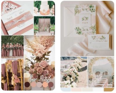 Mood Board, Vision board, wedding planning, Pinterest