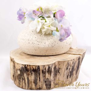 Shiga Vase with Hydrangeas