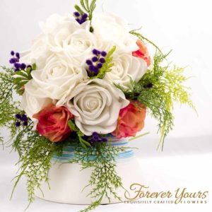 Amazing & elegant hand-made bridal bouquet made in our Melbourne studio
