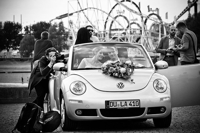 Wedding Photographer, photography, wedding car