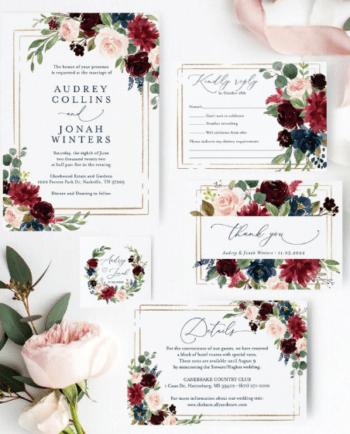 Wedding Invite, DIY, Invites, Craft