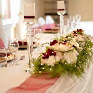 Wedding Table Decoration & LED Lights
