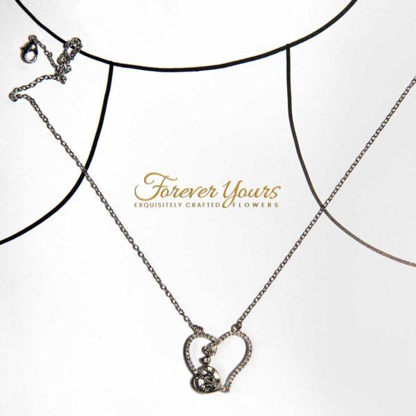 Rhinestone Pendant Necklace