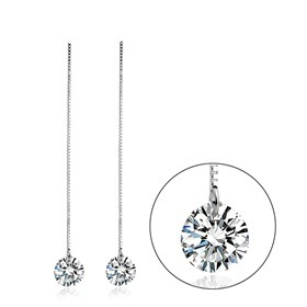 Austrian Crystal jewellery, wedding jewellery, bride, jewellery, special event. drop chain earrings