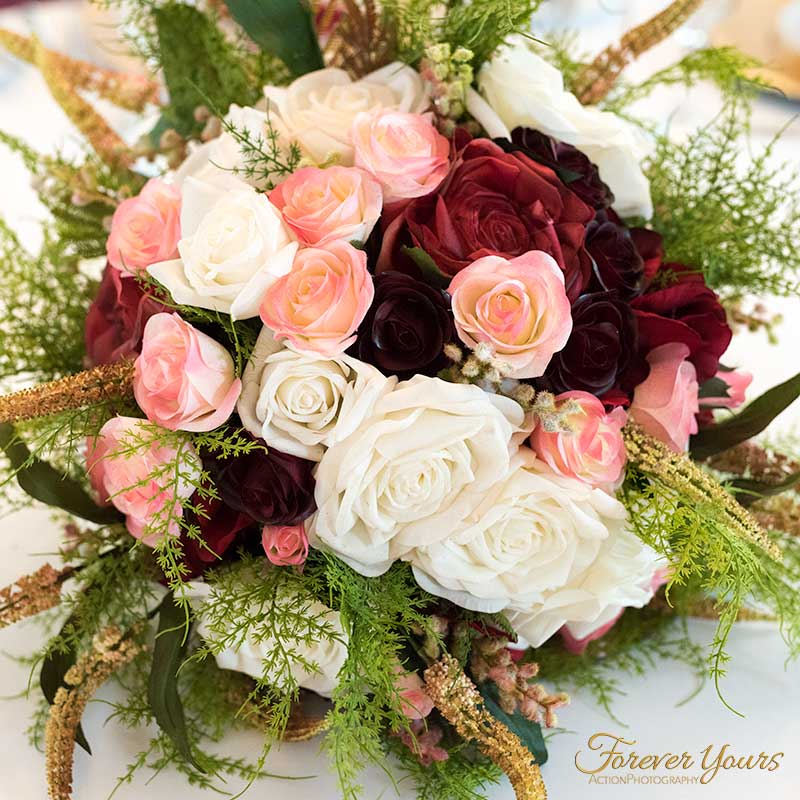 Wedding Flowers Melbourne: Handmade Silk Flowers Arrangement Melbourne